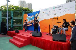 大會邀請了樂隊Emoticons表演搖滾音樂,掀起全場高潮。