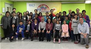 香港小童群益會榮譽會長胡經昌太平紳士及本會總幹事羅淑君太平紳士接見一眾得獎者及其家庭,甄選傑出表現的學童。