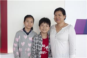 招太表示兩名孩子參與此計劃後性格變得開朗,亦促進了親子關係。